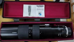 成色不错,有不少霉的腾龙200-500/6.9带OM环1200非偏远。