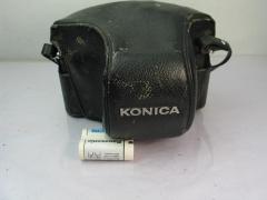 柯尼卡AUTOREX机身(黑色,稀有)+柯尼卡52 F1.8镜头,价格1188元包邮
