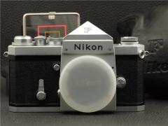 第一版 富士山 尼康尖顶大F NIKON F 美品