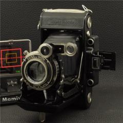 战前蔡司Zeiss 6X9 超级依康泰 530/2 镍版天塞 105/3.8