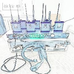 惟侒特PRO无线导播通话双工对讲通讯 腰包液晶屏含无线泰利功能版