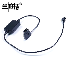 D-tap转直流稳压供电线 12V输出DC  松下AU-EVA1摄像机供电线