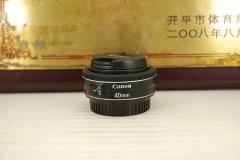 99新 佳能 40mm F2.8 STM 饼干头单反镜头大光圈定焦人像视频利器
