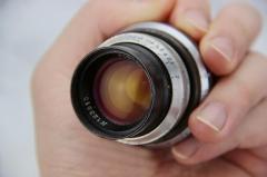 苏联 俄罗斯 早期  2/50 电影头 PO3-3M  已改 L39口  镜头