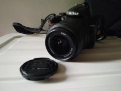 尼康D5000单反相机 原装18-55防抖镜头 原装配件齐全
