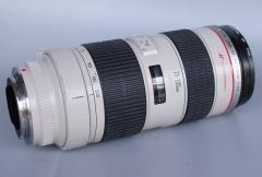 佳能 70-200mm 1:2.8 L 自动镜头 小白 大光圈长焦